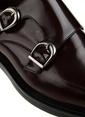 George Hogg %100 Deri Klasik Ayakkabı Bordo